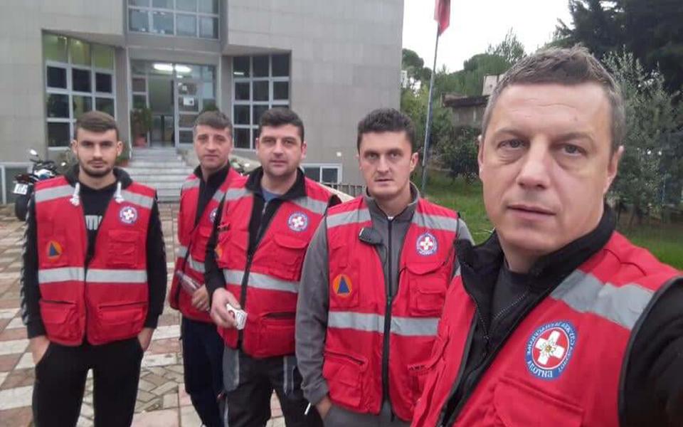 Земјотрес Албанија